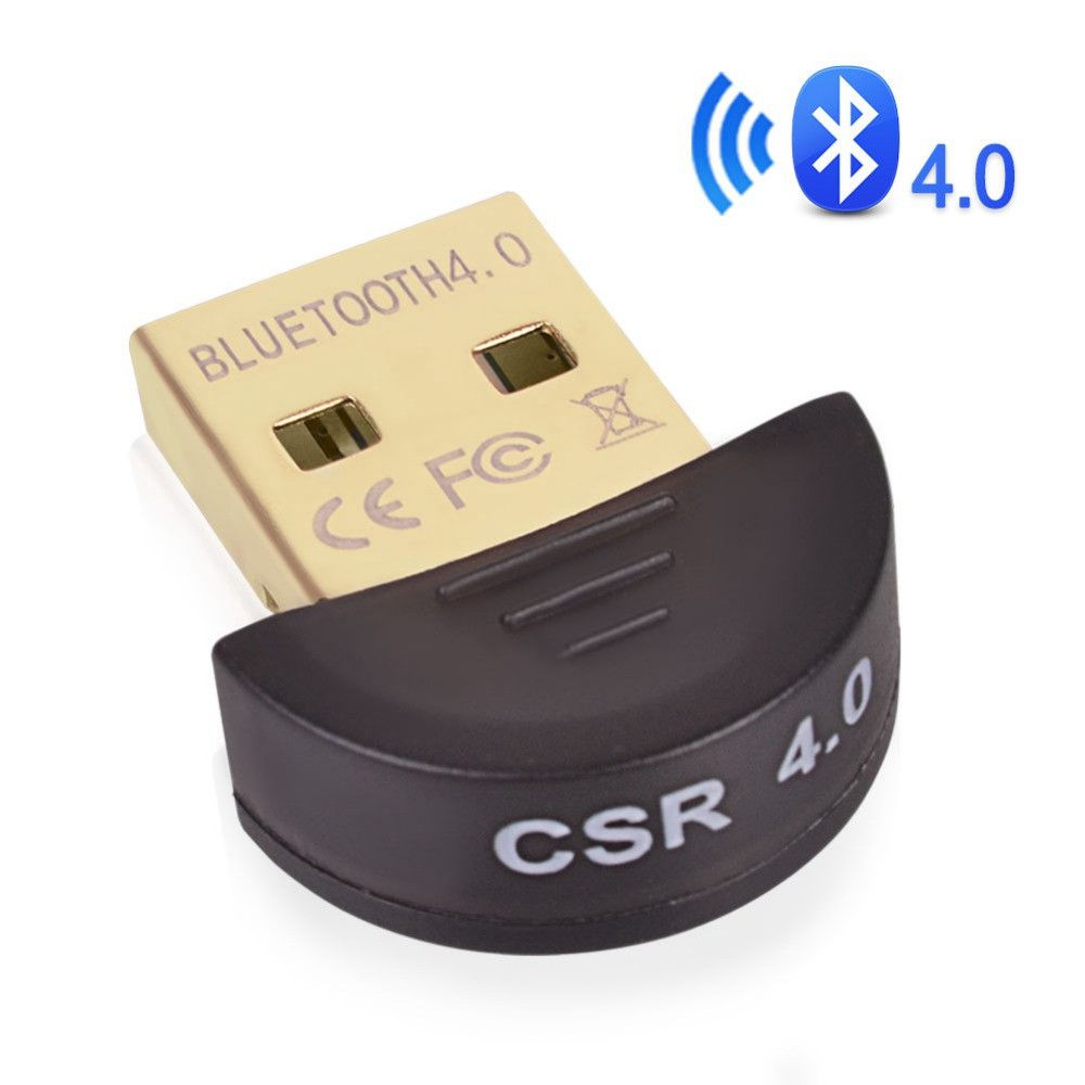 Juhtmevaba USB Bluetooth-adapter V4.0 kahesuguse mini-Bluetooth arvuti vastuvõtja adapter Dongle arvutile Windows Vista XP