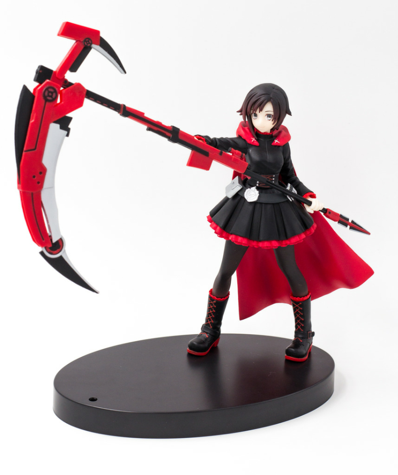 Japanese original anime figure 16cm RWBY Ruby action figure collectible model toys for boys 17cm japanese original anime figure sega terraformars adolf reinhard action figure collectible model toy for boys