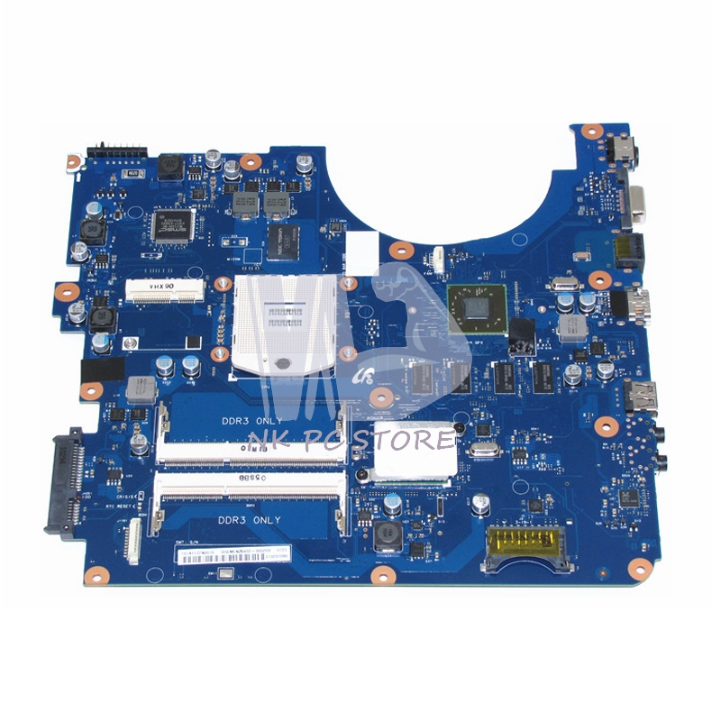 NOKOTION BREMEN2-L For Samsung R538 R540 R580 Laptop Motherboard BA41-01285A BA92-06626A BA92-06626B HM55 ATI HD 4500 DDR3 nokotion 646176 001 laptop motherboard for hp cq43 intel hm55 ati hd 6370 ddr3 mainboard full tested