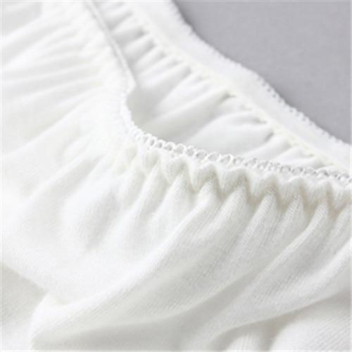 3 Colors High Quality Women Modal White Solid Maxi Half Slip Plus
