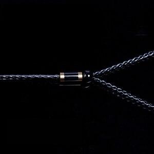 Image 5 - 8 فروع 200 النوى سماعة كابل MMCX ل Shure SE215 SE535 A2DC Ls50 0.78 مللي متر ل Weston TFZ W4r Um3x IE80 Im50 Im70 TF10 TF15