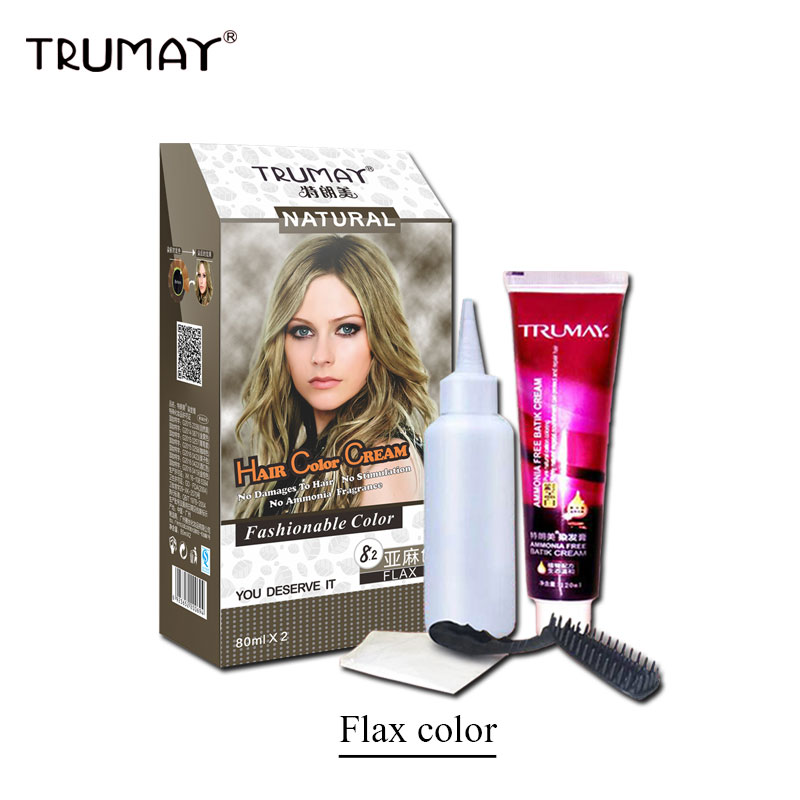 Aliexpress Buy Trumay Plant Aroma No Ammonia Type Hair Dye