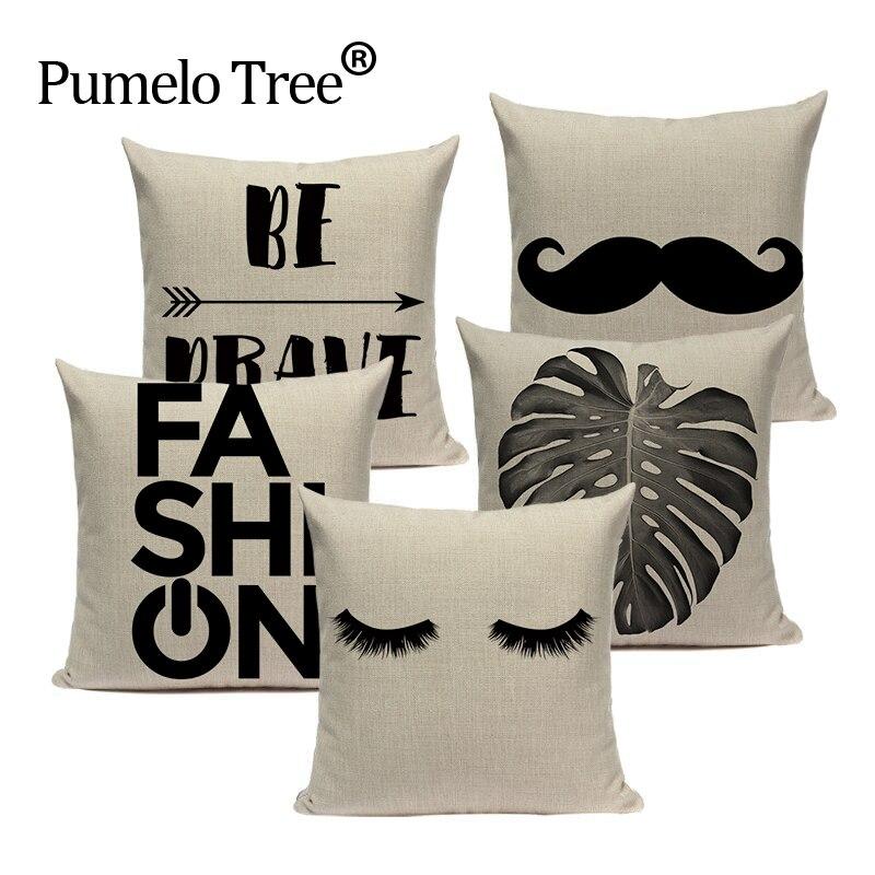 Одежда высшего качества в полоску испанский Пряжа для Вязание любовные письма диван-кровать Подушки Детские Пледы 45 см x 45 см площади диван-...