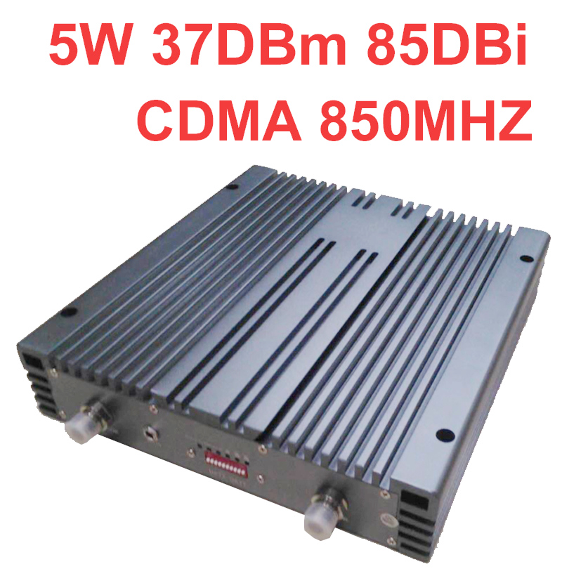 10000m2 Work Telecom Use 37dbm 85dbi 5W CDMA Booster Cdma Repeater 800Mhz SIGNAL Booster CDMA Enlarger Repeater For40 Antenna