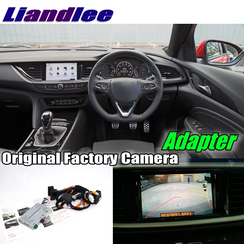 Liandlee Car Reverse Rear Back Up Camera Interface Adapter Decoder Kits For Opel For Vauxhall Insignia System Upgrade