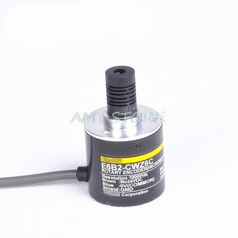 OMRON 2500P Incremental Rotary Encoder 2500p//r E6B2-CWZ1X Differential Signal