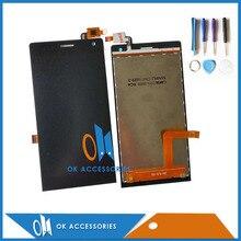 Haute Qualité Noir Couleur Pour DEXP Ixion MS 150 MS150 LCD + Écran Tactile Digitizer + Outils Remplacement 1 PC/Lot