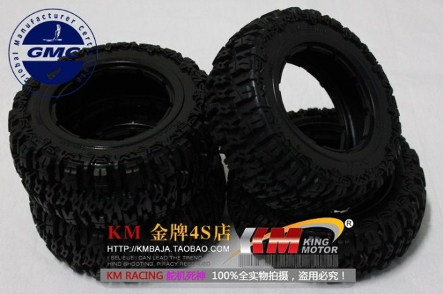 Baja 5T 5SC tires Set 4pcs