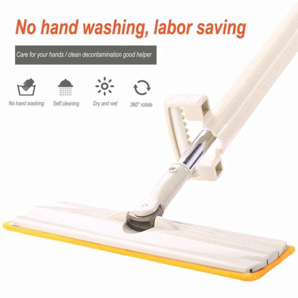 spin mop rengöring verktyg mops golv rengöring ånga mop huvud - Hushållsvaror