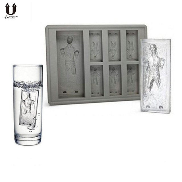 UARTER Star Wars Drink Ice Funny Party Trucs Maker In Hoge kwaliteit Siliconen Ice Mold Mini Ice Cube Tray