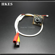HKES HD 1280*720P Indoor CCTV Mini AHD Camera module with BNC Cable and 3.7 mm lens