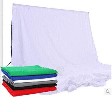 3x5 m Foto Estúdio de Fotografia Fundo De Musselina Sólida, Fotografia Fundo, Vermelho/Verde/Preto/branco/Azul/Cinza para escolher - 3