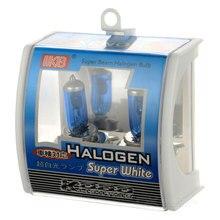 цена на 2Pcs KOBO H4/9003/HB2 12v 55w P43T 5500k Auto car dual auto lamp light super white light halogen free delivery
