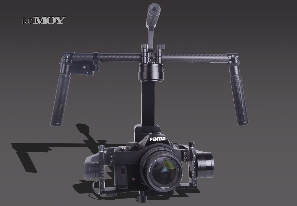 3axis encoder Brushless Handheld Digital Camera Gimbal Gyro Stabilizer for GH3 GH4 A7S Nex5 BMPCC 6300