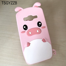 Funny Cartoon Pig Pattern Phone Case For Samsung Galaxy J5 2016 Cover Grand Prime Soft Silicone 3D Cute Back J2 G532F
