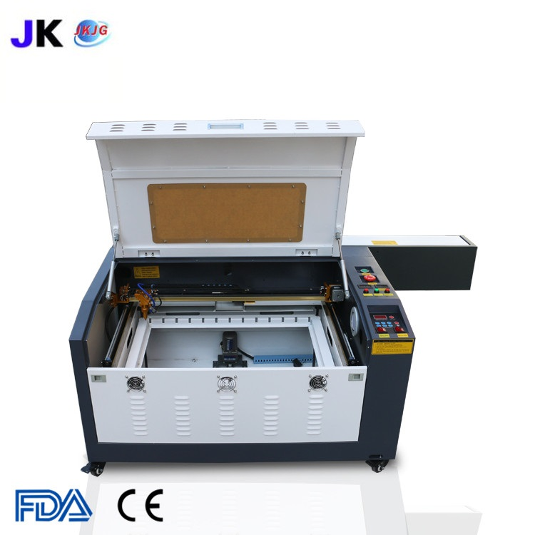 Image 3 - Free shipping CNC laser cutting machine/laser engraver/CO2 laser cutter 4060/6040 for wood plywood engraving machine hot saleWood Routers   -