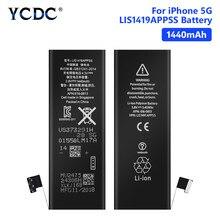 YCDC Lithium Telefon Batterie Für Wiederaufladbare Telefon Bateria Echt 3,8 V 1440mAh iPhone 5 5G iPhone5 iP5 Batterien kostenlose Tools