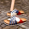 Amantes de zapatillas de corcho sandalias de las mujeres femeninas Del Verano antideslizante flip flop casual chica transpirable sandalias chaussure femme