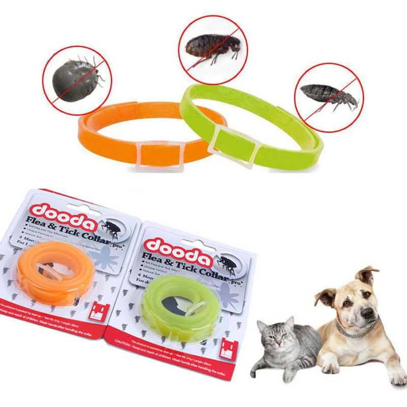 Silicon Pet Dog Cat  Anti Lice Plague Mosquitoes  Flea Collars Kill Lice Parasite Deworming Insect Repellent Collar