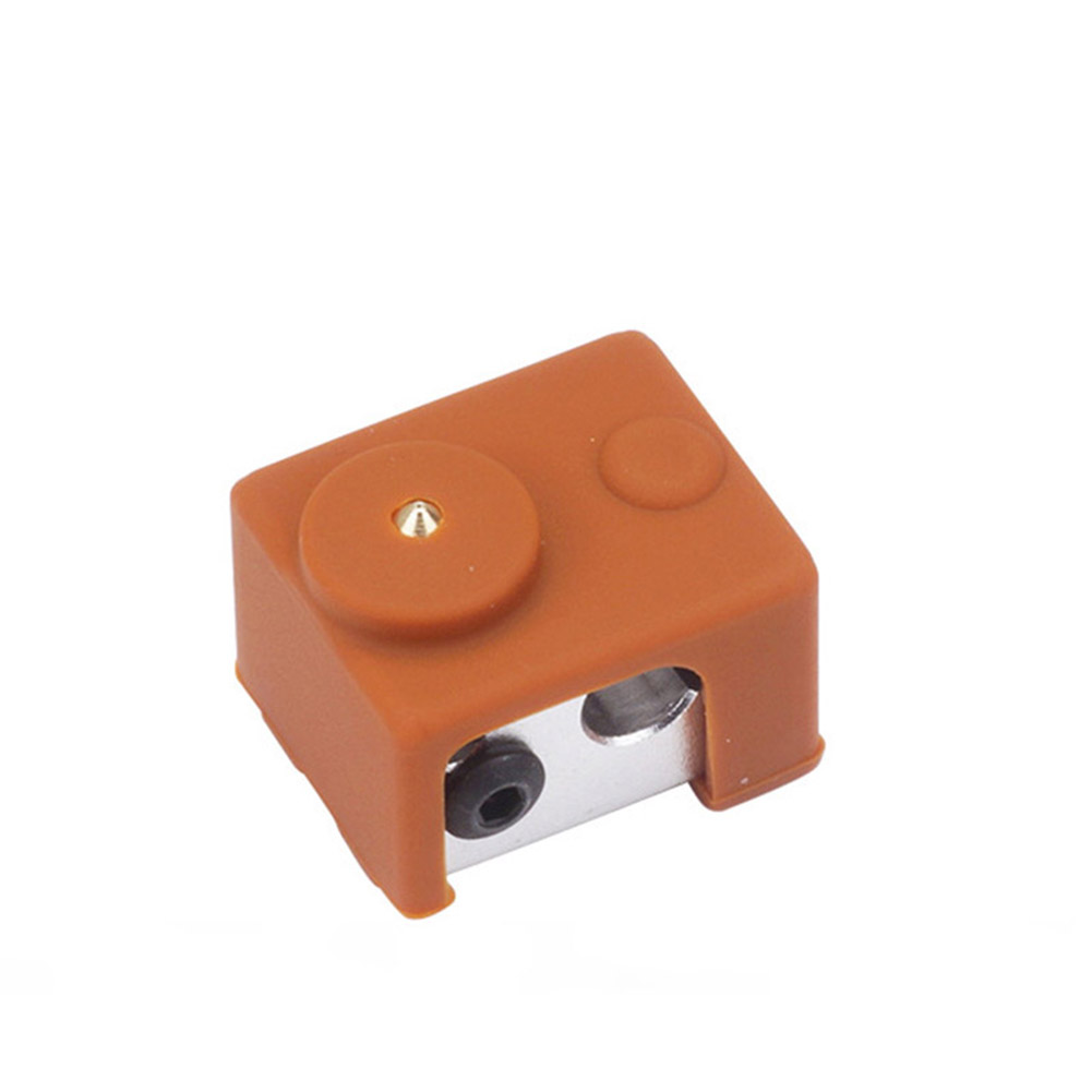 Silicone Insulation Case Box sleeve For E3D V6 Hot End PT 100 Cover 3D Printers