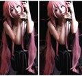 IMCOSER Высокое качество Бесплатная Доставка Новый Дневник Будущего Mirai Nikki Gasai Yuno Косплей женщин Парик красивые волосы милый розовый парик