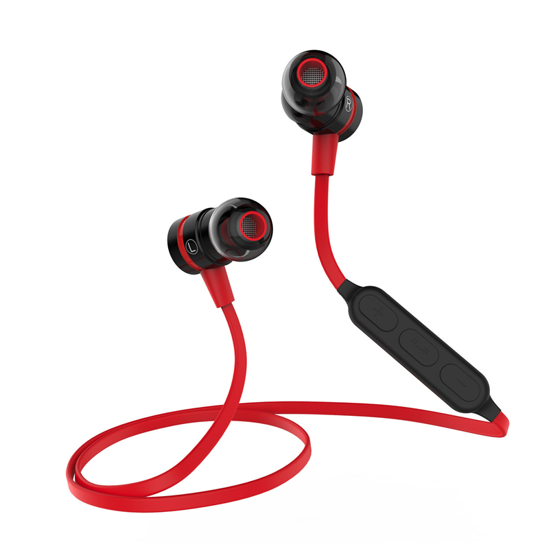 PLEXTONE BX335 Magnetic Switch Sport Stereo Bluetooth Earphone For iPhone Samsung LG HTC Handsfree Wireless Earphones With Mic universal h3 wireless bluetooth heaphone stereo headset earphone handsfree with microphone for samsung lg htc lenovo iphone asus