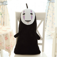 1 Pcs 60CM Studio Ghibli Spirited Away Kaonashi No Face Faceless Cosplay Plush Toys