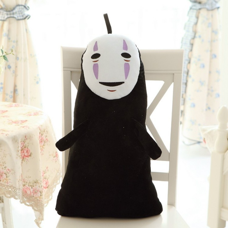 1 Pz 60 CM Studio Ghibli Spirited Away Kaonashi No Face Faceless Cosplay Peluche