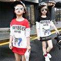 Vacas Cool Fashion Baby Girl Camiseta Larga 2017 de La Muchacha de Moda Camiseta de Manga Larga O-cuello de La Camiseta para Niños Niños Niñas Ropa
