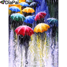 DIAPAI Diamond Painting 5D DIY 100% Full Square/Round Drill Umbrella character Embroidery Cross Stitch 3D Decor A24634