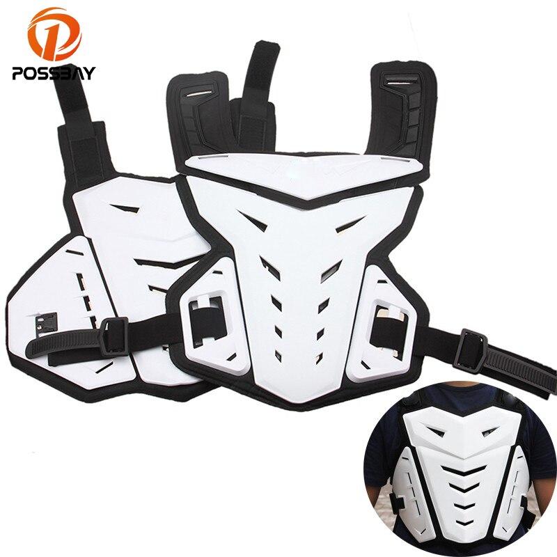 POSSBAY veste de Moto Moto Enduro Protection de l'armure corporelle cyclisme colonne vertébrale protecteur de poitrine 1 taille costume S-XXXL armure de Moto