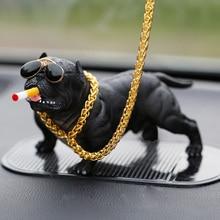 Автомобильные украшения креативный мини Французский бульдог Socoal Bully Dog украшение дома авто Интерьер имитация собаки Ремесло Декор Аксессуары