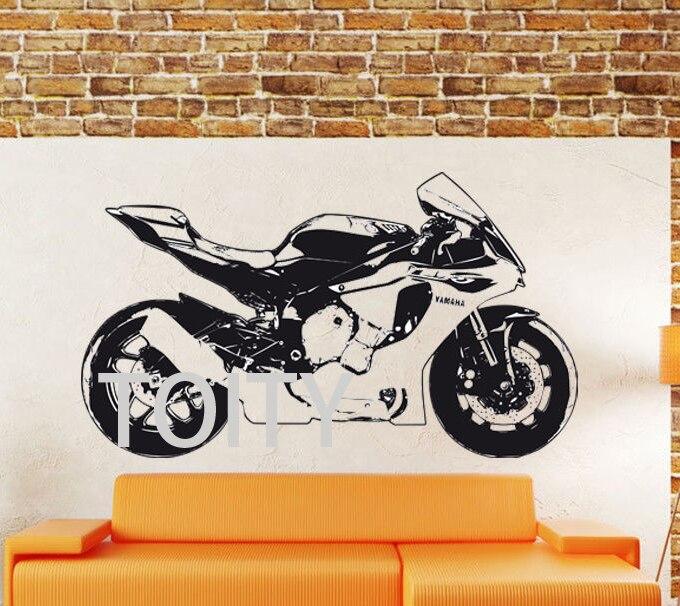 Yamaha R1 Motorbike Creative Dirt Bike Motorcycle Home