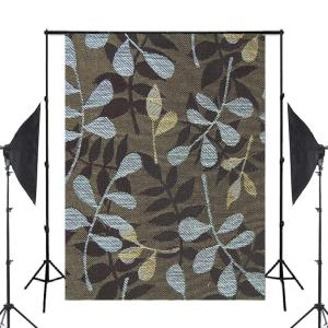 Image 1 - Blue Brown Pattern Photography Background Print Cloth Photo Backdrops Photo Studio Props 5x7ft Wall Photography Background
