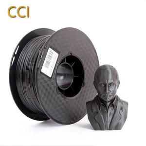 Нить для 3D-принтера PLA Filber 1,75 мм 1кг CF-PLA материалы для 3d-печати высокопрочный черный