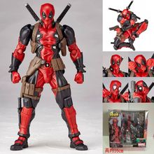 deadpool action figures superhero figurines Mini doll Decoration PVC Collection Figurine Toys for children anime model oyuncak 8 different style black and red spiderman action figures fan collections mini fun model landscape fleshy doll gift for children