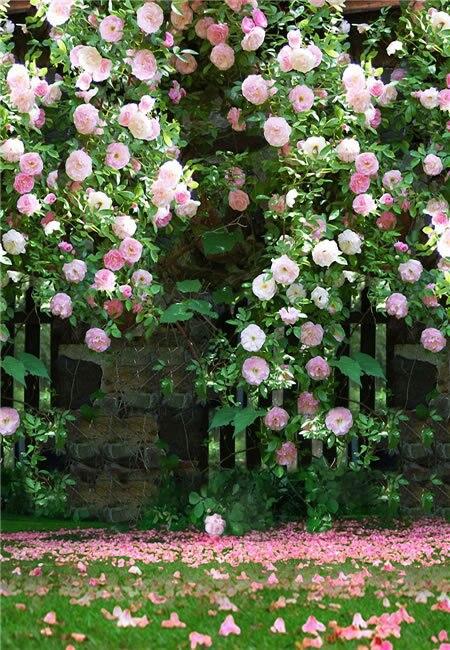 생명의 매직 박스 블룸 150x200cm 사용자 정의 사진 배경 인기있는 배경 꽃 사진 배경 N10374