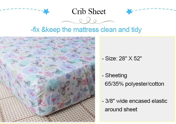 4 crib sheet