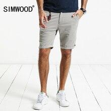 Simwood 2017 летний новый шорты мужчин slim fit хлопка высокого качества марка одежды kd5047