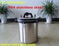 8 Litros Avanzado XFS-260 304 portátil de acero inoxidable esterilizador autoclave de esterilización olla a Presión el envío libre
