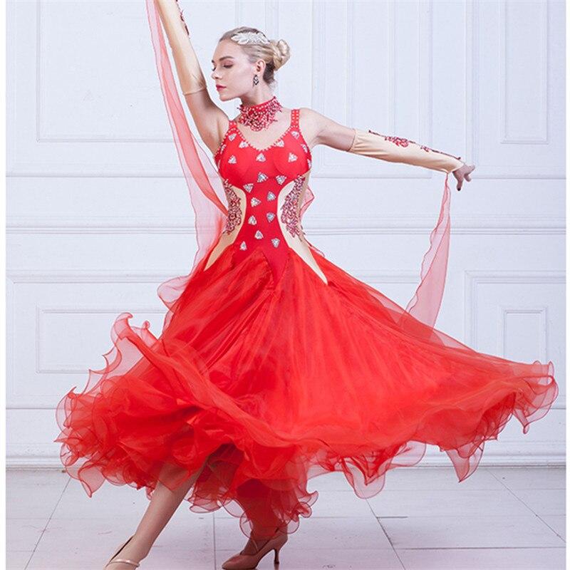 Fashion Ballroom Competition Dress Ballroom Modern Dresses Standard Ballroom Waltz Dresses Ballroom Dancing Dress