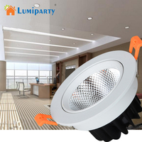 Lumiparty LED Spotlight Bulb 3000K Undimmable COB Downlight For Stage Scene Event Residential Commercial General Lighting