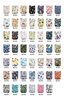 New Arrival 8 pcs Baby Cloth Diaper Cover Reusable Pocket Diapers