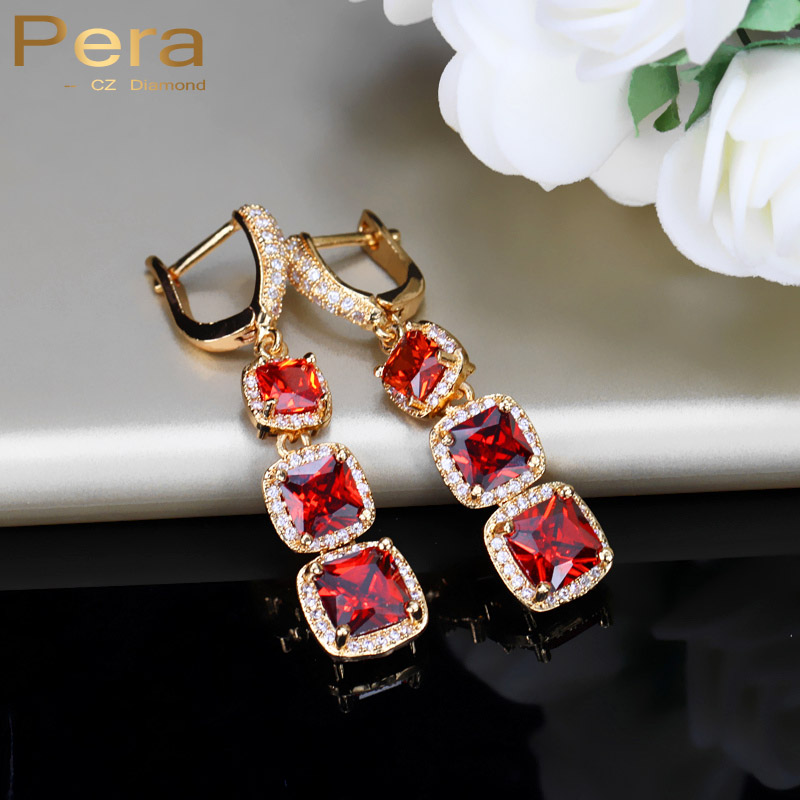 Cz Stones Earrings