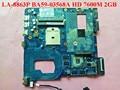 Para samsung np 355v4c 344v5c 355e4c 350v5c 355e5c laptop motherboard qmle4 la-8863p ba59-03568a hd 7600 m 2 gb