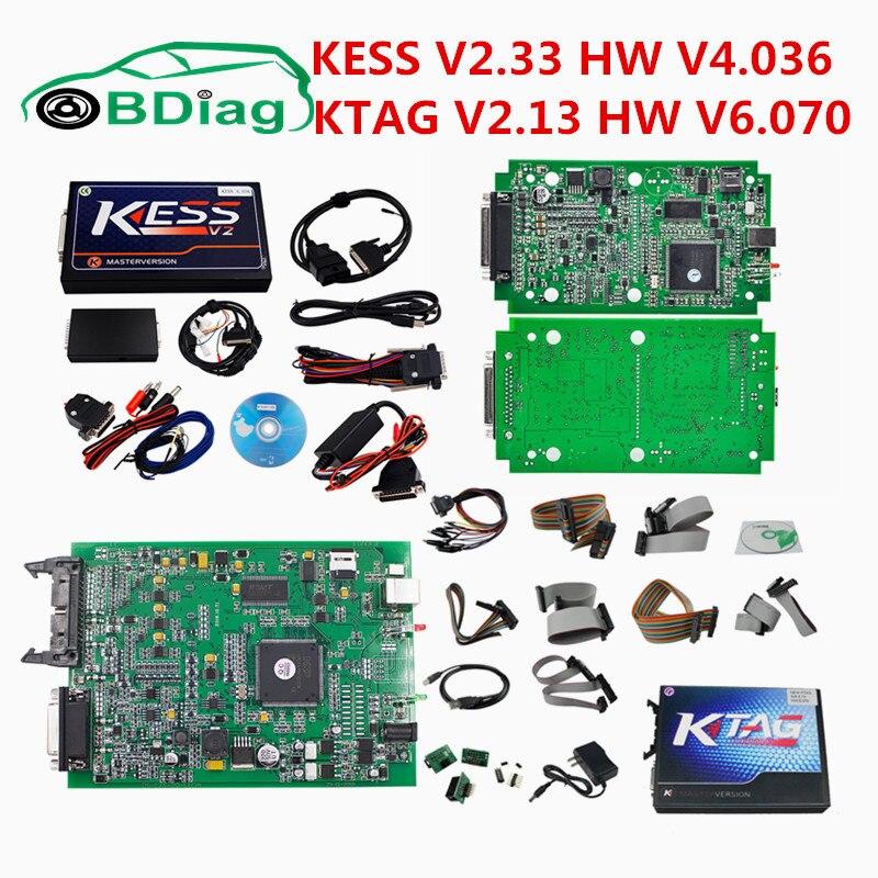 Цена за KESS V2.33 KESS Equipos V4.036 OBD2 чип менеджер Тюнинг Комплект KESS V2 без маркеров ОГРАНИЧЕННОЙ автомобиля программист добавить ECM/ winols как подарок
