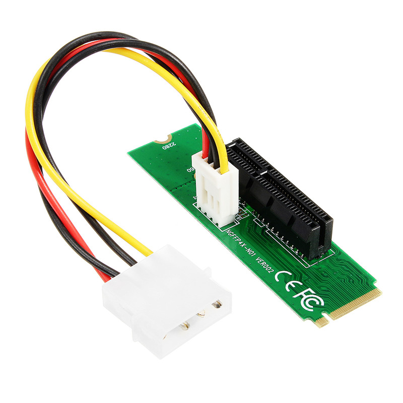 High Speed PCI-e PCI-Express PCI-E 1X/4X Female Card to NGFF M.2 M Key PCIe Slot Adapter Converter Card for Bitcoin Miner high quality iss g200 1 pb niagara2250 60 pci sales all kinds of motherboard