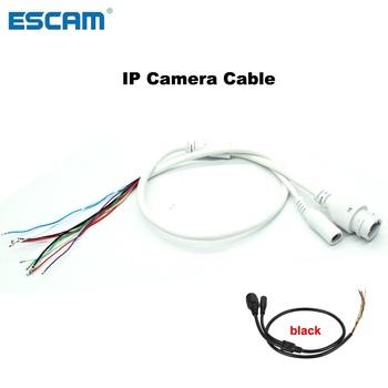 IP kabel kamery dla kamera sieciowa IP kabel kamery wymienić kabel RJ45 kabel kamery DC12V dla kamera ip CCTV zastąpić skorzystaj z tanie i dobre opinie ESCAM Kable network camera cable Brak IP cable