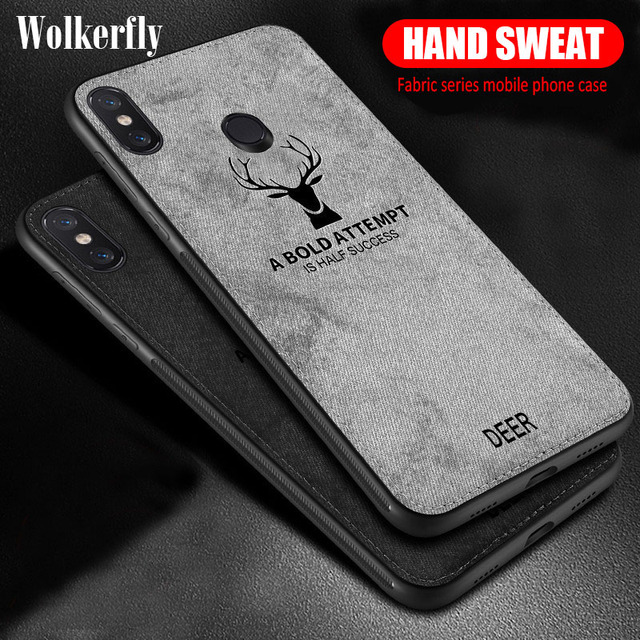 Shockproof Deer Cloth Case For Xiaomi Redmi K20 Note 7 6 Pro 6A 5 Plus 4X S2 Mi 9T Pro Mi 9 SE A2 8 Lite A1 Mix 3 Poco F1 Cover