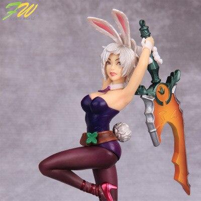 Фигурку лол Изгнание Ривен Bunny коллекция кукла pvc 19.5 см box-упакованы игры герои фигурка мира как подарок для малыша 151245